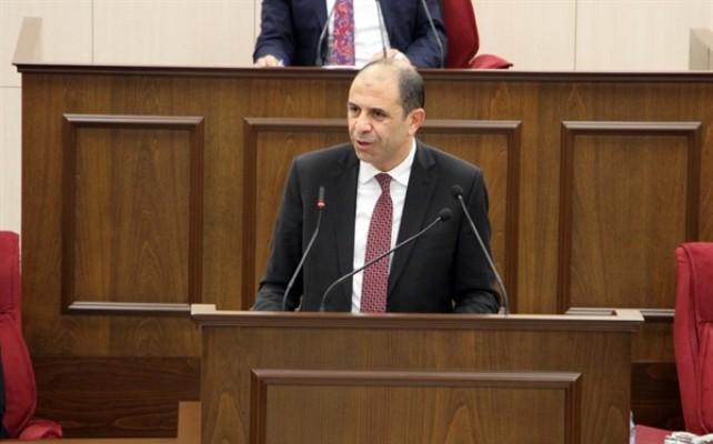 Özersay: Önerilen Rum devletidir...