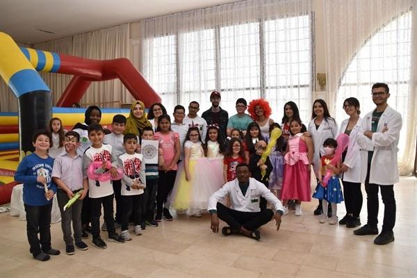 Saraçoğlu Lösemili Çocuklar VakfI yemek düzenledi