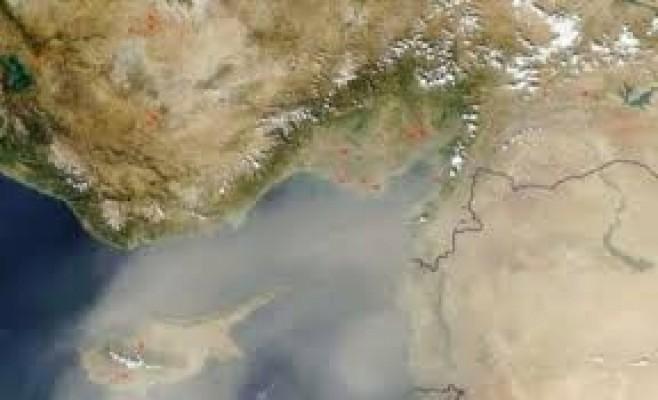 Toz bulutu uyarısı...