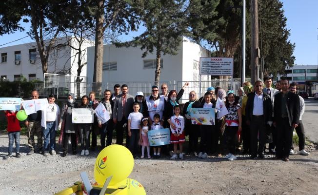 YDP, Lefkoşa'da çevre etkinliği düzenledi