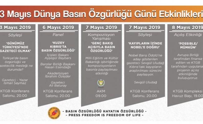 3 Mayıs Dünya Basın Özgürlüğü Günü...