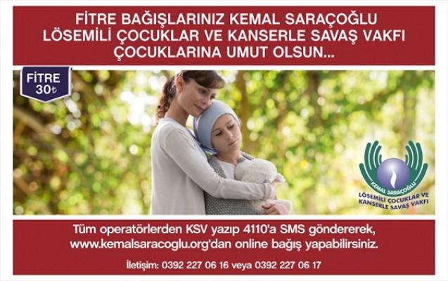 Kemal Saraçoğlu fitre ve zekat bağışı için çağrı yaptı