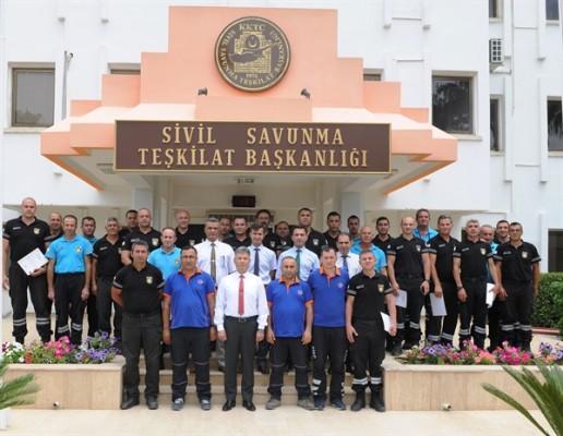 Sivil Savunma personeline eğitim verildi