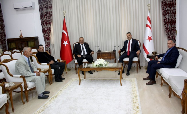 Uluçay, Türk Göçmenler Yardımlaşma ve Dayanışma Derneği'ni kabul etti