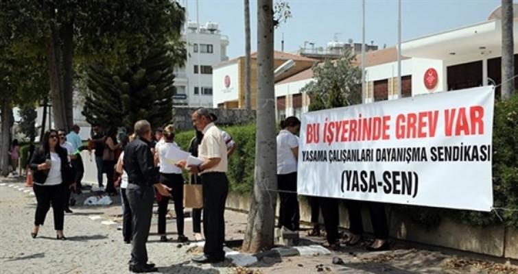 Yasa-Sen: Uluçay'ın basın açıklamasıyla grevimizin hiçbir ilgisi yoktur