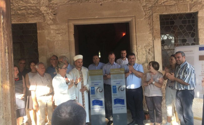 Baf'taki restorasyonlar tamamlandı