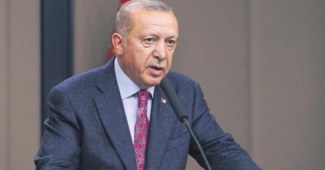 Erdoğan: Amerika'nın orada ne hakkı var?