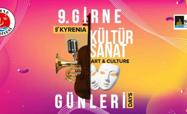 Girne Kültür Sanat Günleri 18 Haziran'da başlıyor...