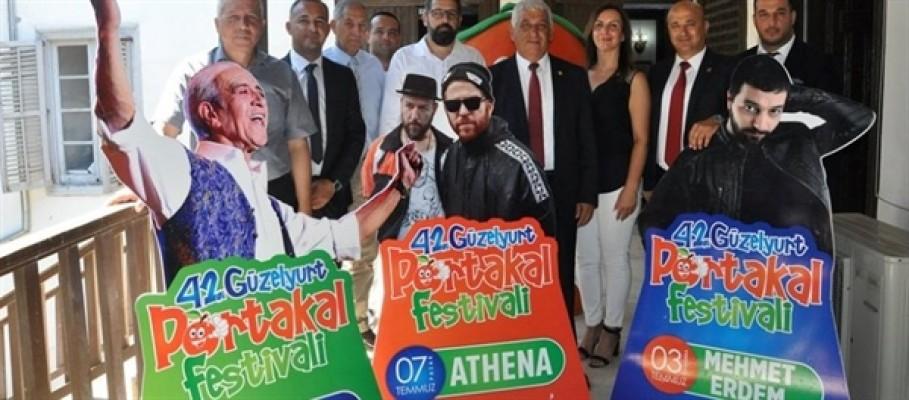 Güzelyurt Portakal Fesivali'nin açılışı yarın
