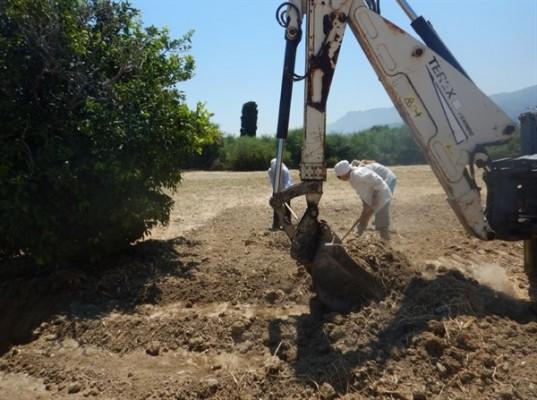 Lapta'daki kazılarda 1 kaybın daha kalıntılarına ulaşıldı...