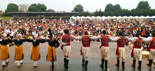 Londra'daki Kıbrıs Türk Kültür Festivali'ne yoğun ilgi...