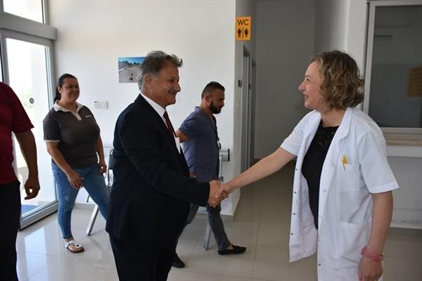Pilli, Sağlık Merkezlerini ziyaret etti....