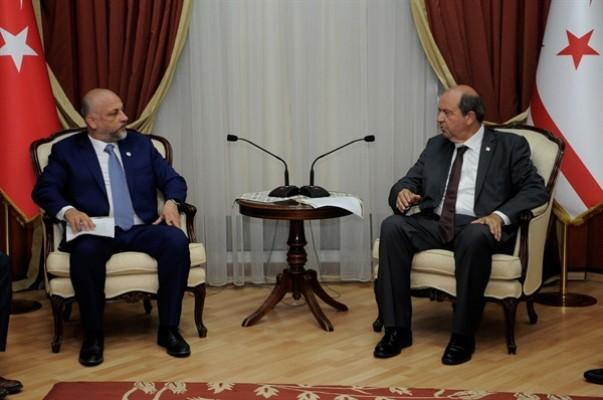 Tatar: Çok sayıda yatırımcı KKTC'ye gelecek