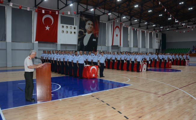 74 polis  ve 26 itfaiye memuru mezun oldu...
