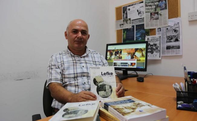 """Ağayev'in """"Lefke Tarihinden Sayfalar"""" kitabı yayınlandı"""