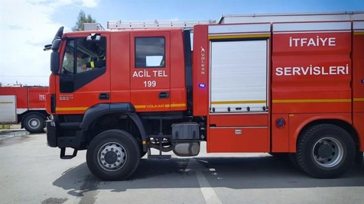 Çukurova'da elektrik hatları koptu yangın çıktı...