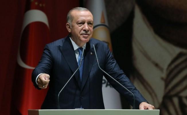 Erdoğan: Kıbrıs'ta biz sıradan bir ülke değiliz, garantörüz