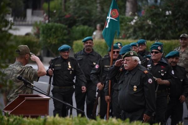 Gemikonağı - Lefkeli Mücahitler KTBK komutanlığını ziyaret etti