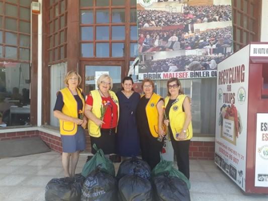 Girne Ada Lions Kulübü'nden KHYD'ye kıyafet bağışı