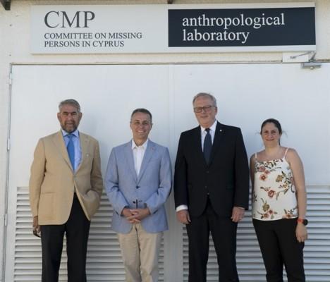 İsviçre Dışişleri Bakanı, Antropoloji Laboratuvar'ını ziyaret etti