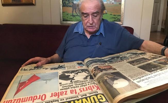 Kıbrıs gazisi, savaş muhabiri Ergin Konuksever TAK'a konuştu...