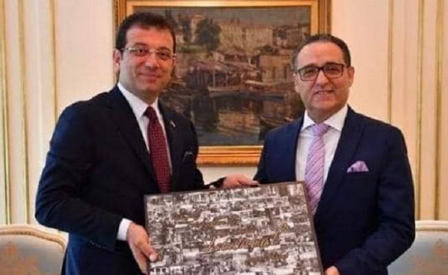 KKTC İstanbul Başkonsolosu İmamoğlu'nu tebrik etti