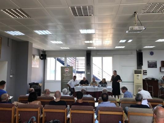 KTÖS'te Kıbrıs Sorunu ve çözümü konuşuldu