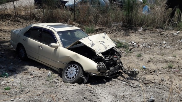 Lefkoşa-Gazimağusa anayolunda kaza! 2 yaralı...