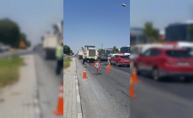 Lefkoşalılar Dikkat!  Trafik tek şeritten verilecek