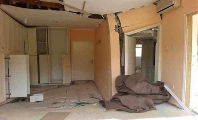 Limasol'da 70 ev çökme tehlikesiyle karşı karşıya