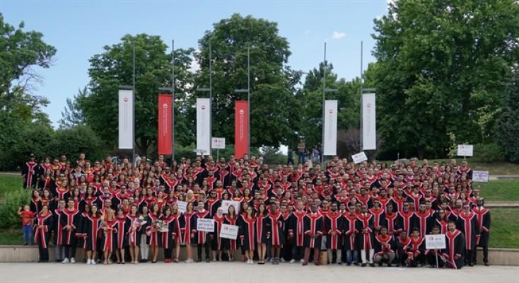 ODTÜ Kuzey Kıbrıs mezunları diplomalarını aldı