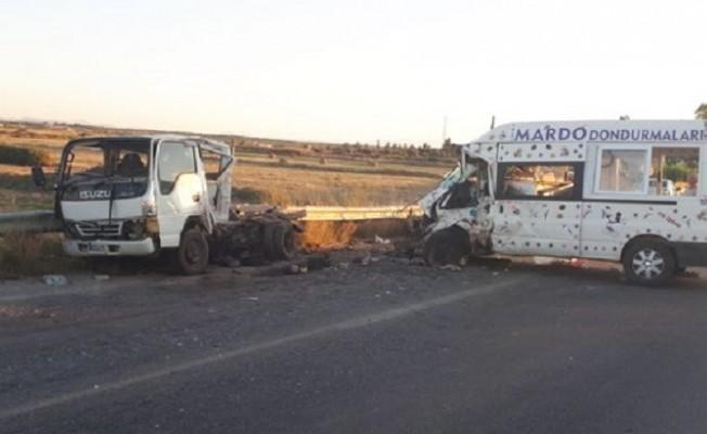 Serdarlı-Geçitkale Anayolunda trafik kazası