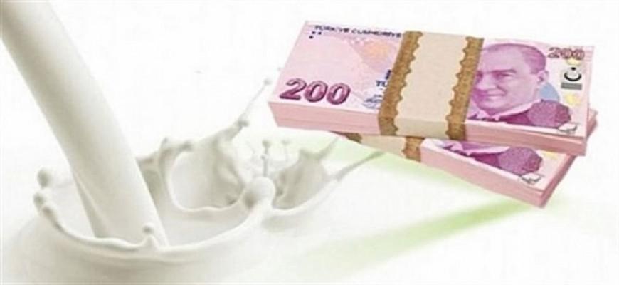 Süt bedellerinin tamamı bugün ödeniyor...