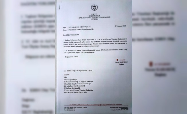 Taşkent olay yeri ölçüm raporu açıklandı