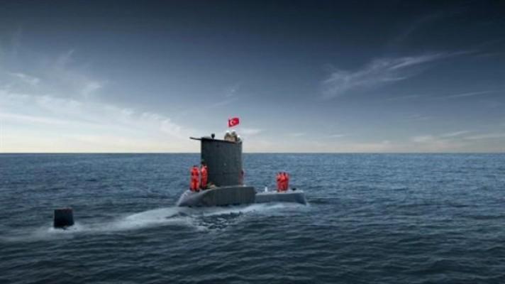 TCG Dolunay  Denizaltısı ziyarete açılıyor.