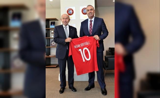 KTFF'den Türkiye Futbol federasyonu'na ziyaret