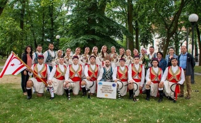 Yeniboğaziçi Halk Dansları Polonya'da...
