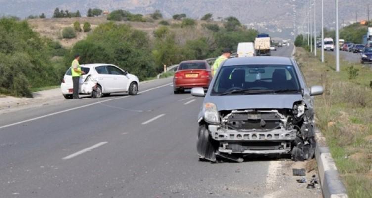 1 haftada 142 trafik kazası...