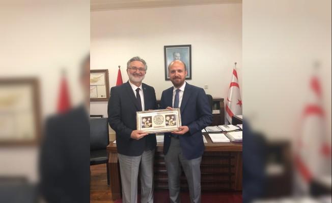 Bilal Erdoğan, Benter'i ziyaret etti...
