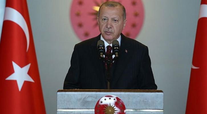 Erdoğan: Gasp ve sabotaj girişimlerine kayıtsız kalamayız