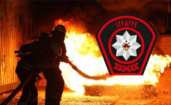 Girne'de Redribon restoranda yangın...