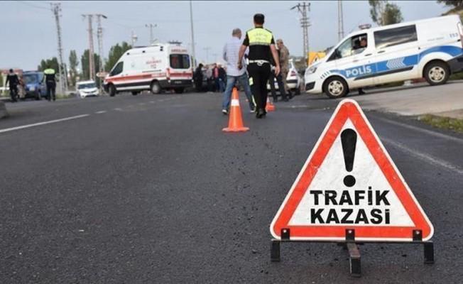 Kalkanlı - Çamlıbel Anayolu üzerinde kaza! 1 kişi hayatını kaybetti...