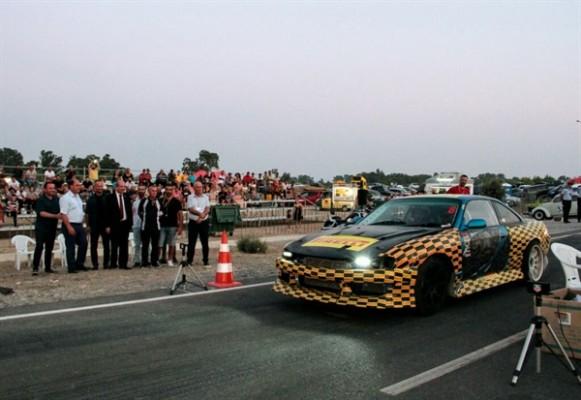 Tatar, Drag yarışı etkinliğine katıldı...