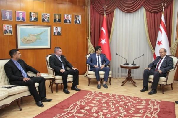 Tatar, Genç İşadamları Derneği'ni kabul etti...