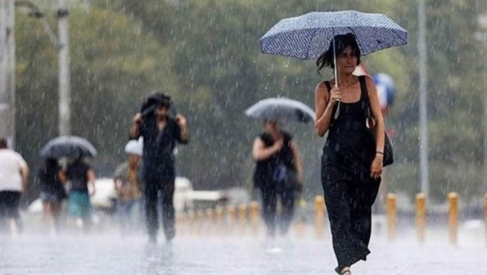 Yarın sağanak yağmur var...