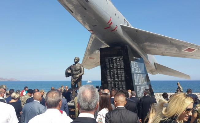 Yenilenen Cengiz Topel Anıtı törenle açıldı
