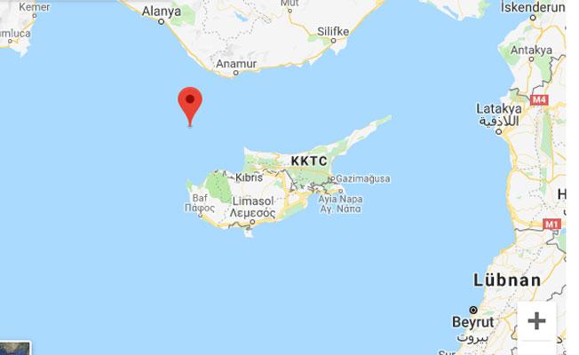 Akdeniz'de korkutan deprem!.