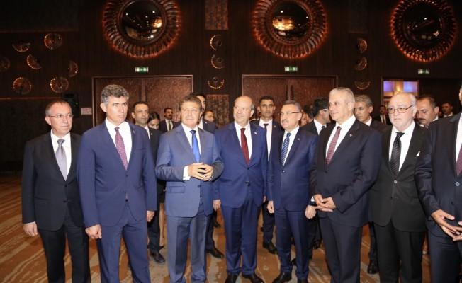 Ankara'da Kuzey Kıbrıs Turizm İşbirliği resepsiyonu...