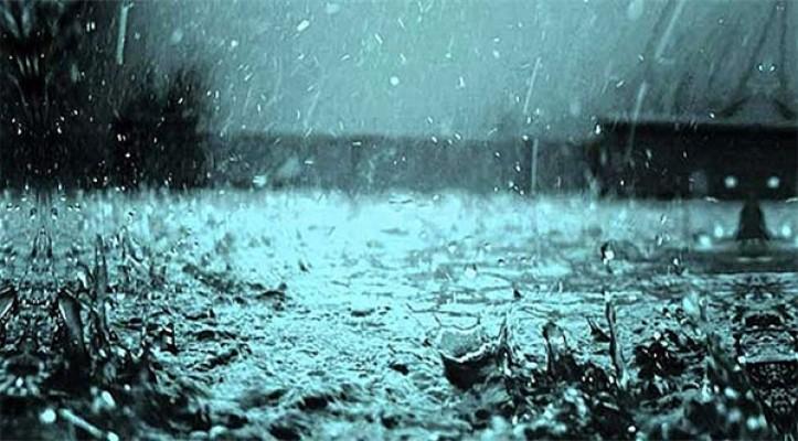 En çok yağış Tatlısu'da kaydedildi....