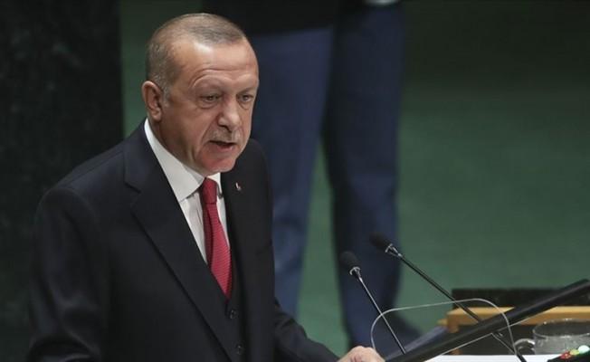 Erdoğan'dan BM kürsüsünde Kıbrıs mesajı...